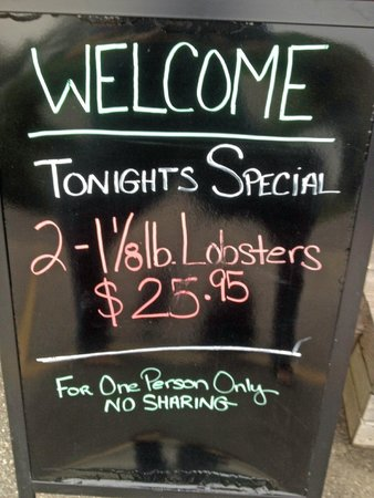 Nunan's Lobster Hut: What a deal!