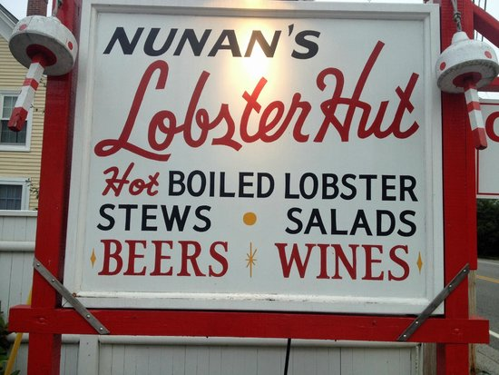 Nunan's Lobster Hut: Down home Lobstah