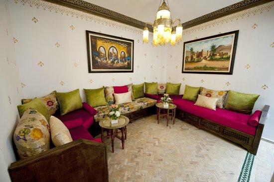 Salon Marocain Picture Of Dar Yasmine Tangier Tripadvisor