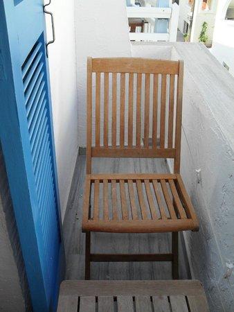 Diogenis Studios : terrace