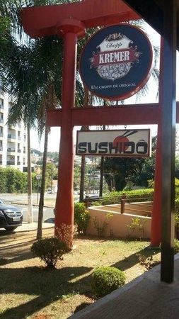 Sushido: Boa localização