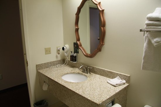 Grand Canyon Railway Hotel: look for the soap dispenser!  I love it!  so environmentally smart