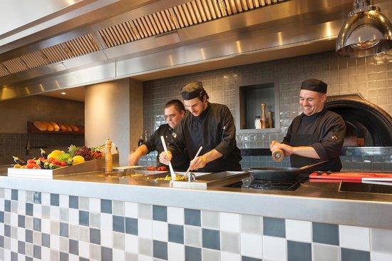 Van der Valk Hotel Stein-Urmond: Live-Cooking