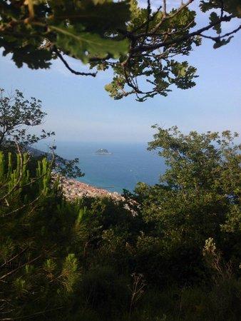 Parco Avventura Solleone : Вид на город и море