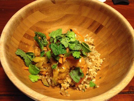 Bahía Taberna: Curry Rojo con Gambas