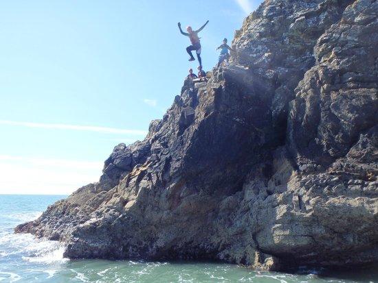Celtic Quest Coasteering: Aaaaaaaaaaaaargh!