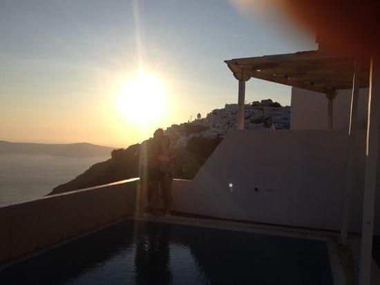 Aeolos Studios & Suites: sunset!