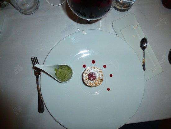 Restaurant Christophe Quéant : dessert