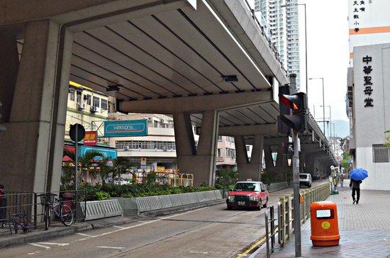 Dorsett Mongkok Hong Kong: The environs.