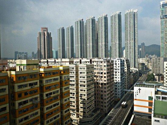Dorsett Mongkok Hong Kong : The view.