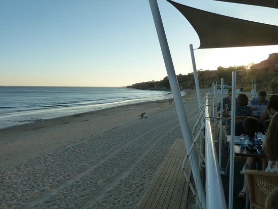 Pine Cliffs Hotel, a Luxury Collection Resort: View from the beach bar