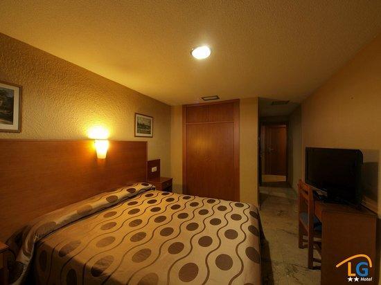 Hotel Los Galanes: Habitación matrimonio