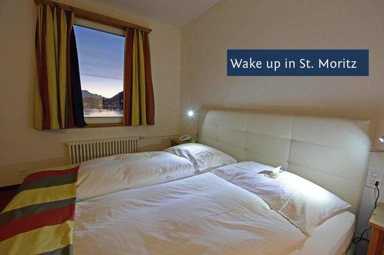 Hotel Waldhaus Am See: Doppelzimmer mit Seeblick