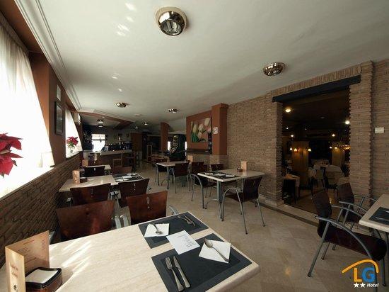 Hotel Los Galanes: Cafetería