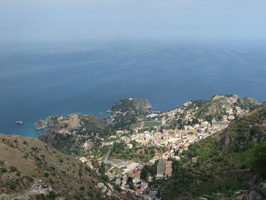 Da Concettina: Taormina vista da Castelmola