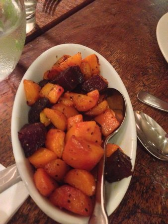 Silversmiths Restaurant : Beets and Carrots