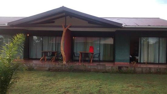 Cabanas Tautira : Vista das Cabañas