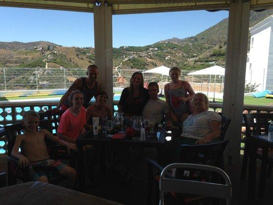 Splash Bistro: Family Picture in Splash for Lunch