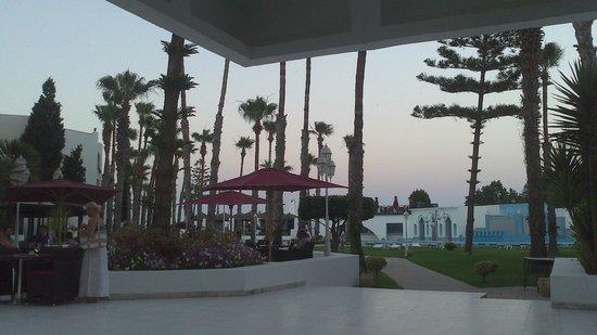 Orient Palace Hotel: Территория