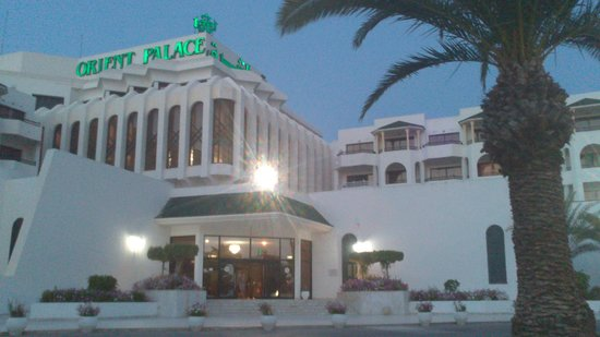 Orient Palace Hotel: Вход