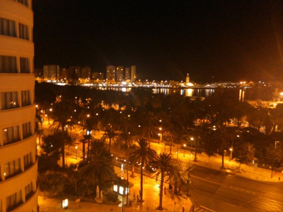 Hotel Molina Lario: Vista desde el 8vo piso donde habia un bar que estaba abierto a partir de las 20 hs