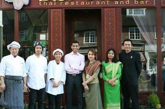Blue Orchid (Thai Restaurant & Bar) Staff