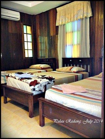 Redang Lagoon: Triple room