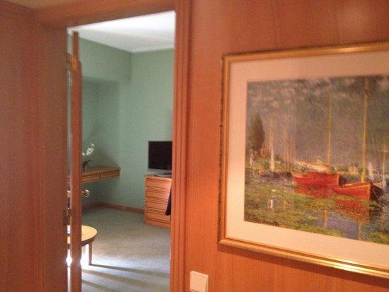 Hotel dos Templarios: room lobby