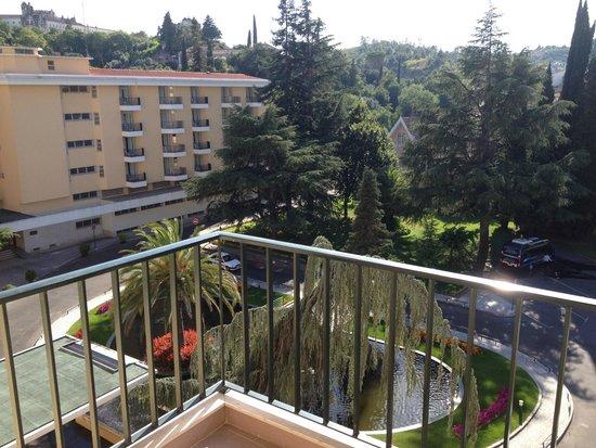 Hotel dos Templarios: balcony