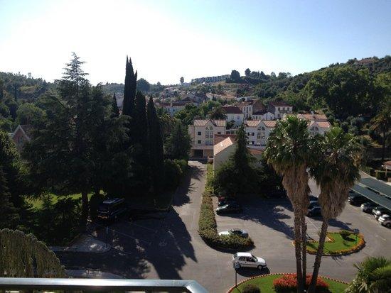 Hotel dos Templarios : balcony view