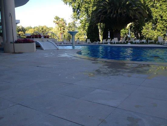 Hotel dos Templarios: Outside pool