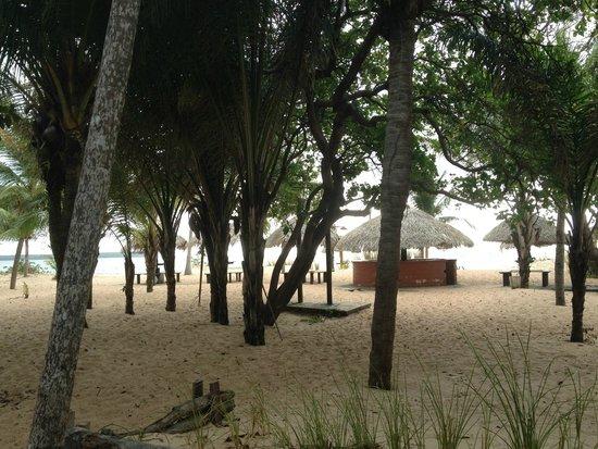 Pousada dos Guaras: Praia