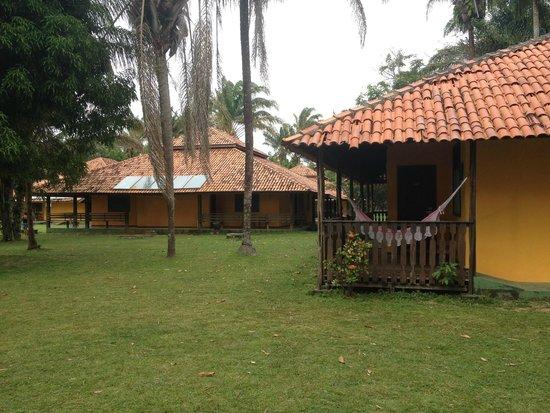 Pousada dos Guaras: area do hotel