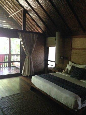 Jeeva Klui Resort : First floor master bedroom