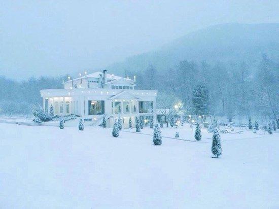 The White House: Snow