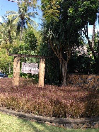 Jeeva Klui Resort: The sign outside