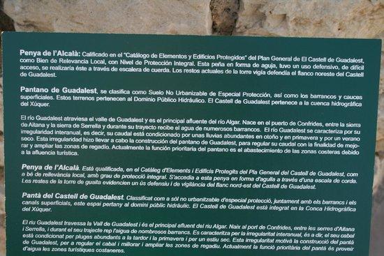 Guadalest Valley: Información sobre el pantano