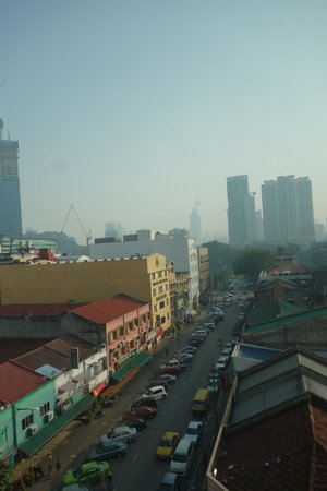 Hotel Sentral: The view.