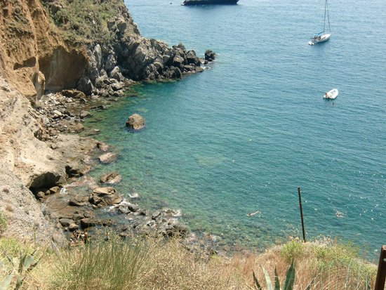 Baia di Sorgeto: Spiaggia