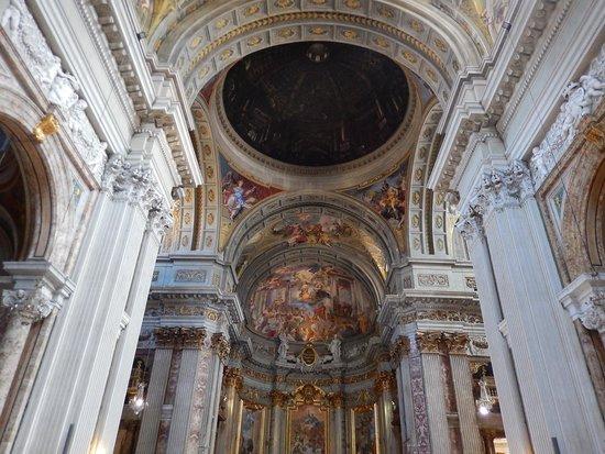 Chiesa di Sant'Ignazio di Loyola: sant'ignazio - abside e finta cupola