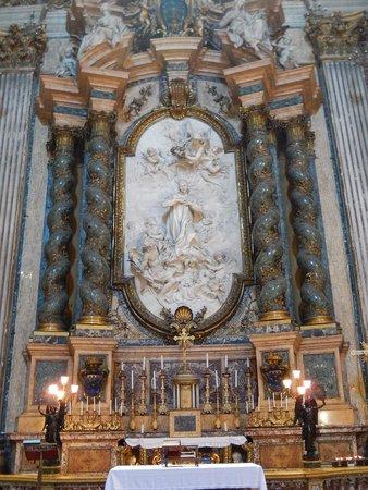Chiesa di Sant'Ignazio di Loyola: sant'ignazio - san luigi in gloria