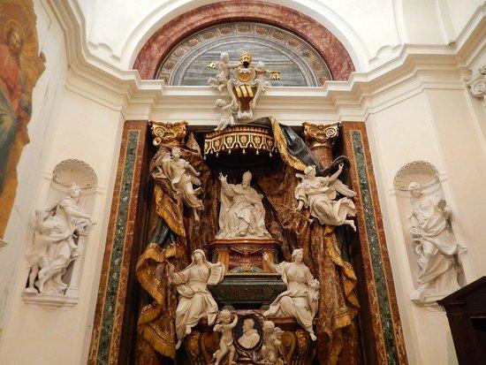 Chiesa di Sant'Ignazio di Loyola: sant'ignazio - tomba boncompagni-ludovisi