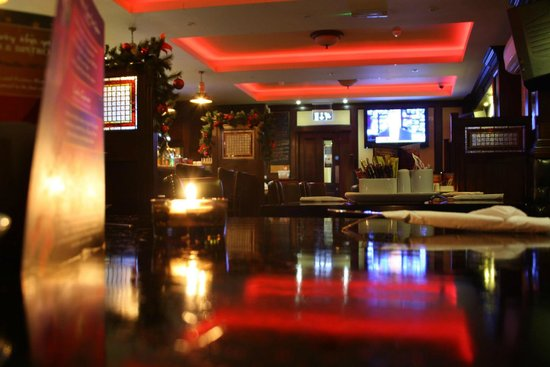 Dan Cronins Bar & Bistro: Main Bar Christmas 2013 At Dan Cronin's Bar & Bistro
