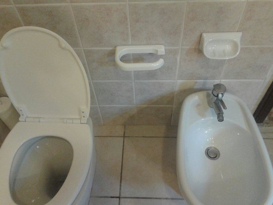 Residenza d'Epoca San Girolamo : Porta asciugamani di plastica