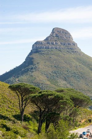Table Mountain Aerial Cableway: view of lion's head