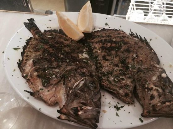 Bocca di Lupo : Lovely Turbot
