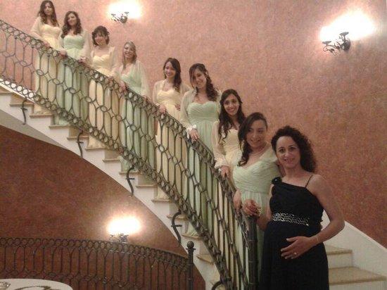 San Nicola Manfredi, Italia: Tutte le dame della sposa....