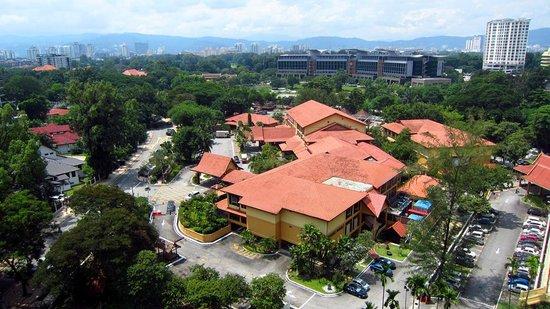 Royale Chulan Kuala Lumpur : 隣接敷地