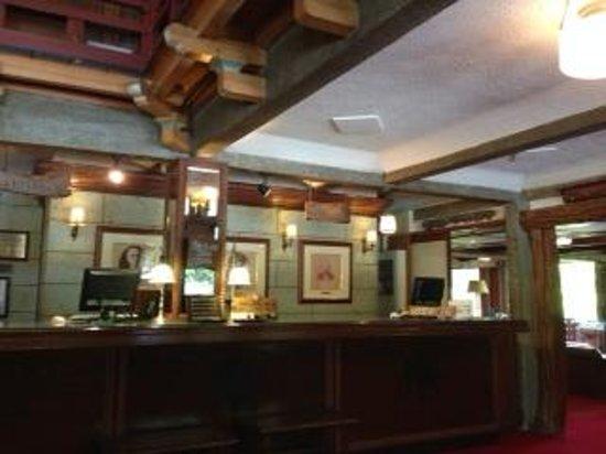 Nikko Kanaya Hotel: 1階のフロントです