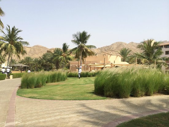 Shangri La Barr Al Jissah Resort & Spa-Al Bandar: the hotel area